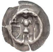 1 Brakteat - Albrecht III. von Querfurt – obverse