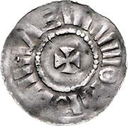 1 Pfennig - Giselher – reverse