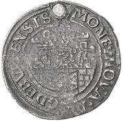 ½ Gulden (Siege issue) – obverse