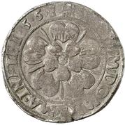 1 Gulden (Siege issue) – reverse