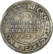 12 Groschen (Emergency currency) – reverse