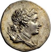 Tetradrachm - Pausanias son of Pausanios -  obverse