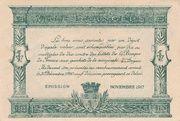25 centimes - Chambre de Commerce d' Angers – reverse