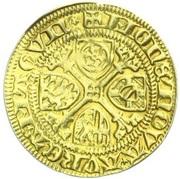 1 Goldgulden - Adolph II. von Nassau – reverse