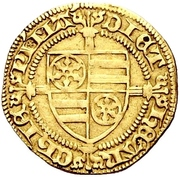1 Goldgulden - Dietrich II. von Isenburg (Mainz) – obverse