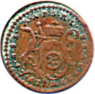 1 Pfennig - Johann Friedrich Karl – obverse