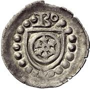 1 Pfennig - Dietrich I., Schenk zu Erbach – obverse