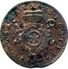 2 Pfennig - Johann Friedrich Karl – obverse