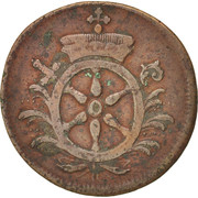 2 Pfennig - Emmerich Joseph von Breidbach-Bürresheim – obverse