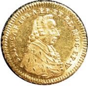 1 Kreuzer - Friedrich Karl Joseph (Gold pattern strike) – obverse