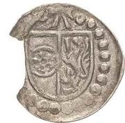1 Pfennig - Albrecht von Brandenburg (Schüsselpfennig) – obverse