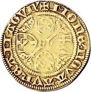 1 Goldgulden - Dietrich II. von Isenburg – reverse