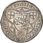 1 Weißpfennig - Adolph II. von Nassau – reverse