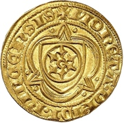 1 Goldgulden -  Johann II. von Nassau – reverse