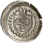 1 Pfennig -  Konrad III. von Dhaun – obverse