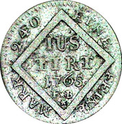 5 Kreuzer - Emmerich Joseph von Breidbach-Bürresheim – reverse