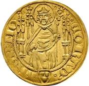 1 Goldgulden - Konrad II. von Weinsberg – obverse