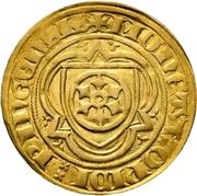 1 Goldgulden - Konrad II. von Weinsberg – reverse