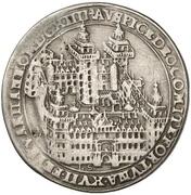 ¼ Thaler - Johann Schweickhardt von Kronberg (Aschaffenburg castle) – reverse