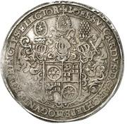 ½ Thaler - Johann Schweickhardt von Kronberg (Aschaffenburg castle) – obverse