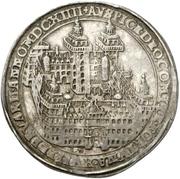 ½ Thaler - Johann Schweickhardt von Kronberg (Aschaffenburg castle) – reverse