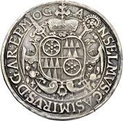 ½ Thaler - Anselm Casimir Wamboldt von Umstadt – obverse