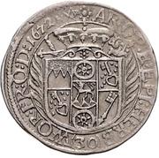 30 Kreuzer - Johann Philipp von Schönborn – reverse