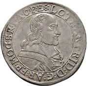 30 Kreuzer - Lothar Friedrich von Metternich-Burscheid (½ Sortengulden) – obverse