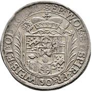 30 Kreuzer - Lothar Friedrich von Metternich-Burscheid (½ Sortengulden) – reverse