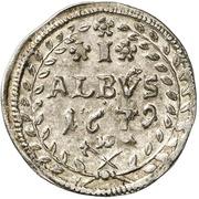 1 Albus - Anselm Franz, Freiherr von Ingelheim – reverse