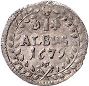 1 Albus - Karl Heinrich von Metternich – reverse