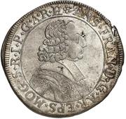15 Kreuzer - Anselm Franz von Ingelheim – obverse