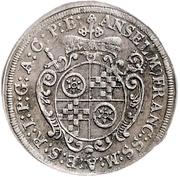 3 Kreuzer - Anselm Franz von Ingelheim (Death) – obverse