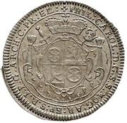 1 Groschen - Philipp Karl von Eltz-Kempenich (Death; Sterbegroschen) – obverse