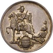 ½ Thaler - Sede Vacante (½ Schautaler) – reverse