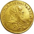 1 Ducat - Johann Friedrich Karl von Ostein – obverse