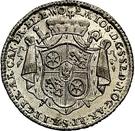 ⅛ Thaler - Emmerich Josef von Breitenbach (Death; 1/8 Sterbetaler) – obverse