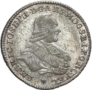 20 Kreuzer - Emerich Joseph von Breitbach-Bürresheim (20 Konventionskreuzer) – obverse