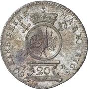 20 Kreuzer - Emerich Joseph von Breitbach-Bürresheim (20 Konventionskreuzer) – reverse