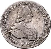 20 Kreuzer - Emerich-Joseph von Breitbach-Bürresheim (20 Konventionskreuzer) – obverse