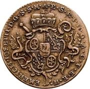 3 Pfennig - Emerich-Joseph von Breitbach-Bürresheim – obverse