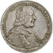 ½ Thaler - Emerich Joseph von Breitbach-Bürresheim (½ Konventionstaler) – obverse