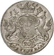 ½ Thaler - Emerich Joseph von Breitbach-Bürresheim (½ Konventionstaler) – reverse
