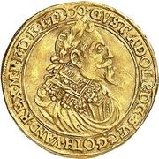 1 Ducat - Gustav Adolph II. – obverse