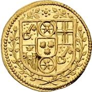 1 Albus - Lothar Friedrich von Metternich Burscheid (Gold pattern strike) – obverse