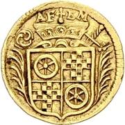 1 Dreier - Anselm Franz von Ingelheim (Gold pattern strike) – obverse