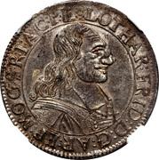 60 Kreuzer - Lothar Friedrich von Metternich Burscheid – obverse