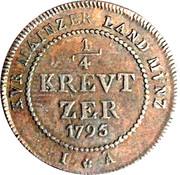 ¼ Kreutzer - Friedrich Karl Joseph – reverse