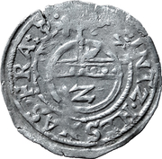 2 Kreuzer (Joint coinage with the city of Frankfurt) – obverse
