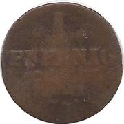 1 Pfennig - Emmerich Joseph von Breidbach-Bürresheim – reverse